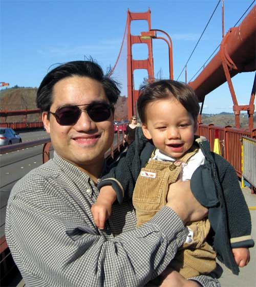 GGB - Daddy and Robert 3, November 21, 2009