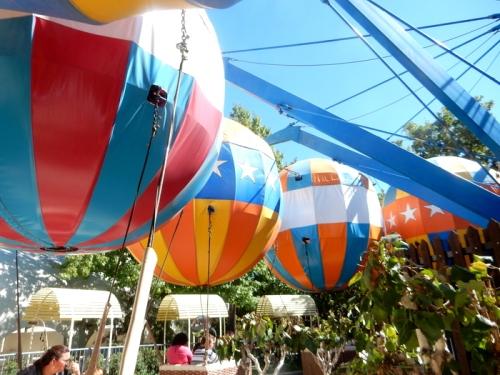 2014 10 11 Gilroy Gardens - Balloon Flight 08, October 11, 2014, 12:35 p.m.